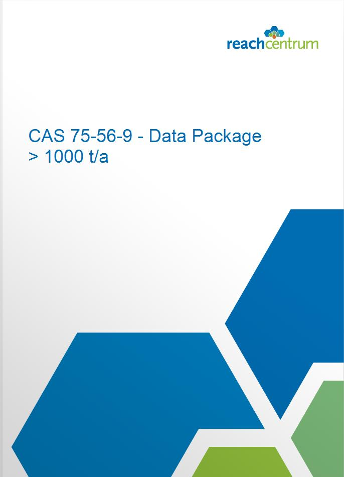 CAS 75-56-9 - Data Package > 1000 t/a